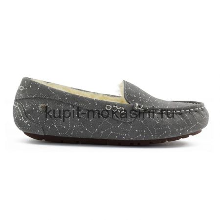 Women's Ansley Constelation Grey - Женские Угги Мокасины Ansley Constelation Серые