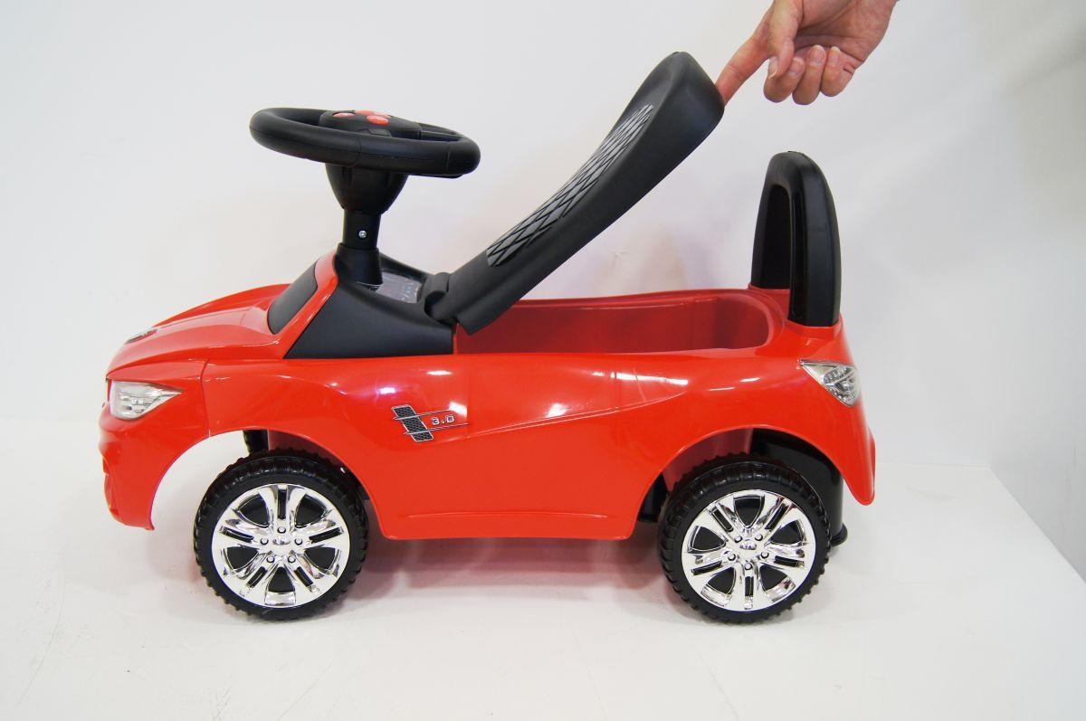 Детская машина-каталка толокар River Toys Mercedes JY-Z01C красный