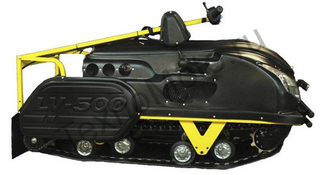 Мотобуксировщик LVR 500 SWE