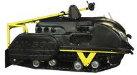 LVR 500 SWE мотобуксировщик с редуктором заднего хода, центральное расположение двигателя мощностью 150 куб.см., вариатор закрытого типа, ширина гусеницы 500 мм.