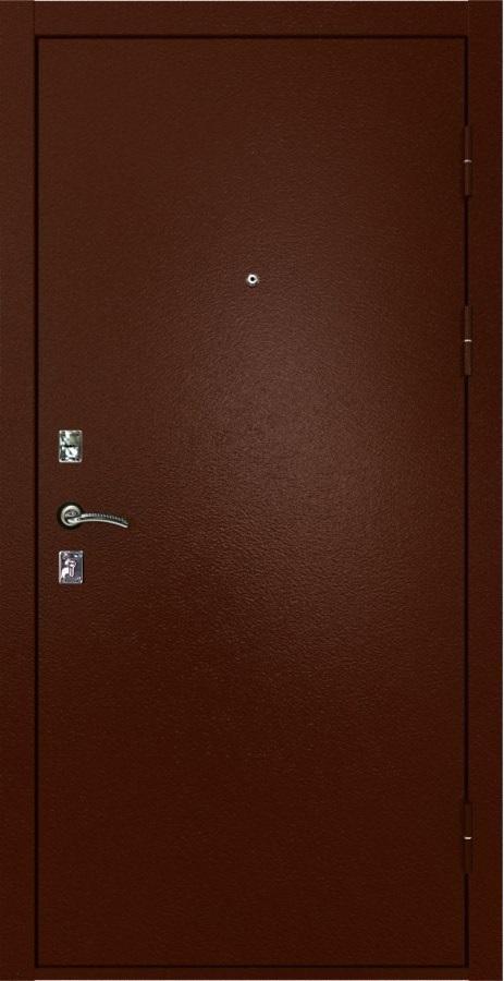 Металлическая дверь Luxor 1 медный антик