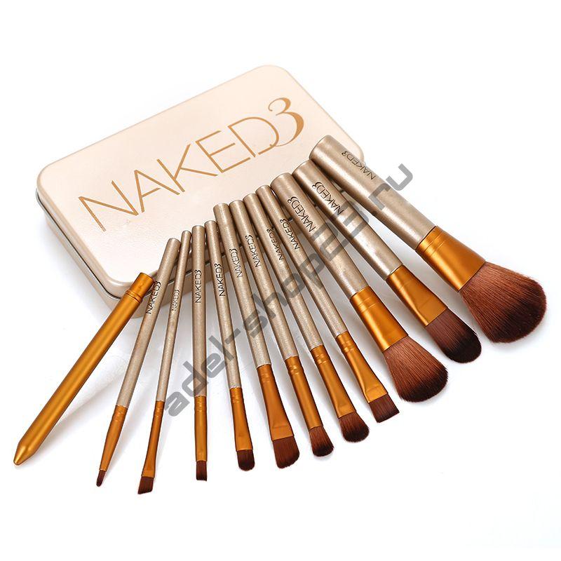 Набор кистей для макияжа NAKED 3 Urban Decay