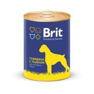 Brit Beef & Millet - Говядина и пшено, консервы для собак (850 г)