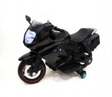 Электромотоцикл River Toys A007MP черный