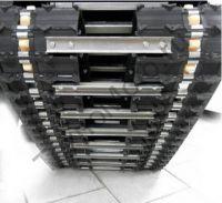Рекс R-RV513 заднеприводный мотобуксировщик с двигателем мощностью 13 л.с., вариатор Safari, разрезанная гусеница.