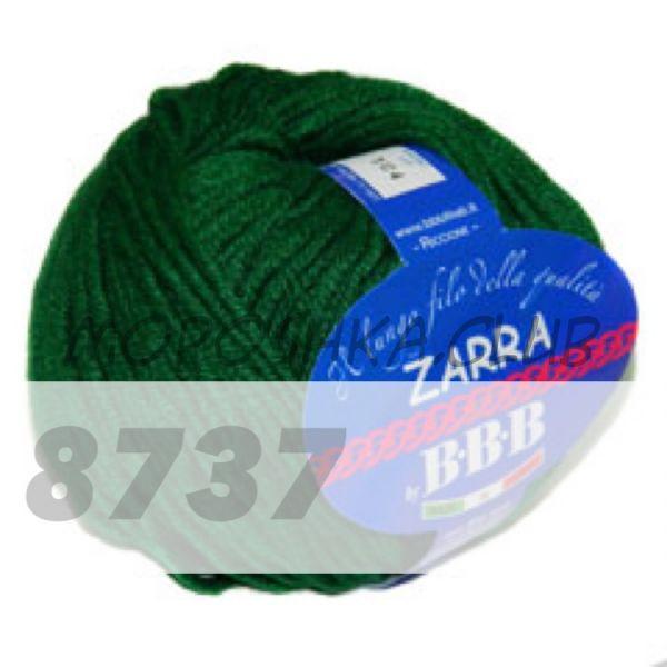 Изумрудный Zarra BBB (цвет 8737)