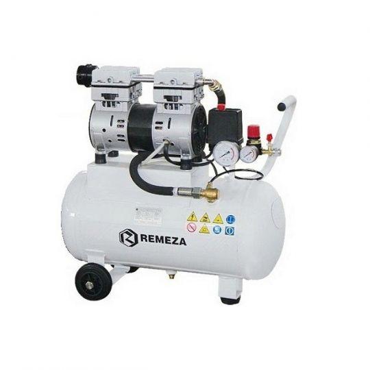 компрессор безмасляный поршневой 150 л/мин, 8 бар, 1.1 кВт. 220 В, ресивер 24 л.