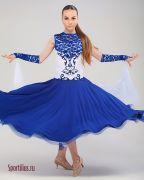 Платье для танцев стандарт, юниоры