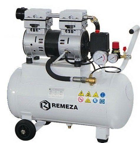 компрессор безмасляный поршневой 200 л/мин, 8 бар, 1,5 кВт. 220 В, ресивер 24 л.