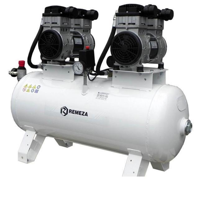 компрессор безмасляный поршневой 400 л/мин, 8 бар, 1.4 1.4 кВт. 380 В, ресивер 100 л.