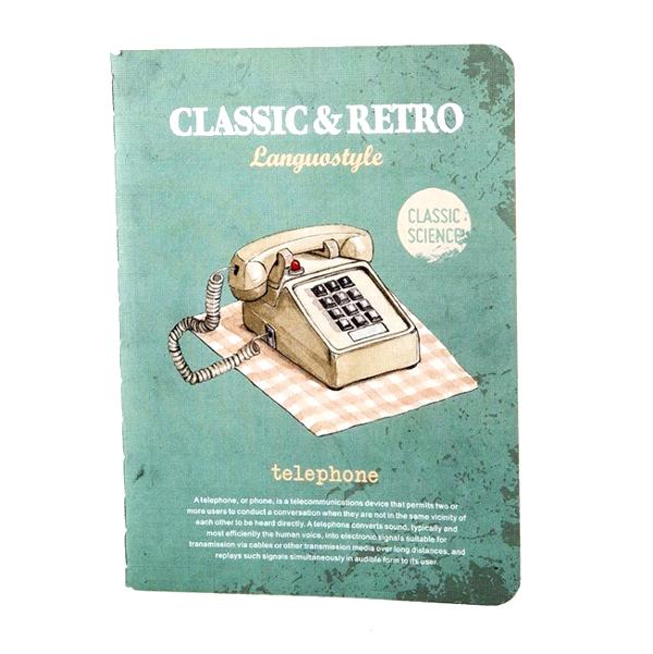 Тетрадь «Retro & Classic» - Telephone