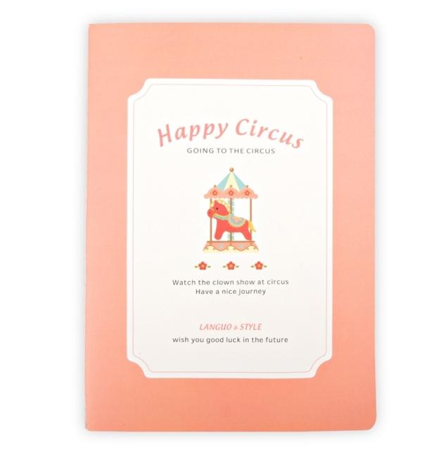 Тетрадь «Happy Circus» - Coral