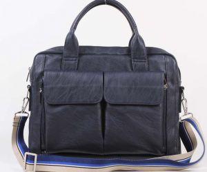 Синяя мужская сумка