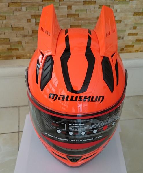 Мотошлем Marushin 999 (интеграл) оранжевый