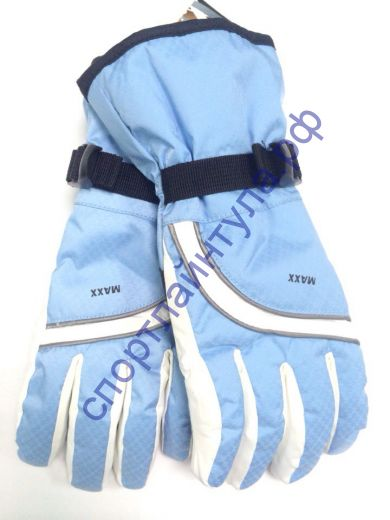 Перчатки женские MAXX голубые