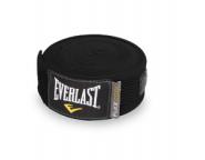 Бинты боксёрские Breathable Everlast 4,55м чёрные 4458B