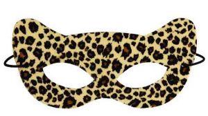 Полумаска леопардовая
