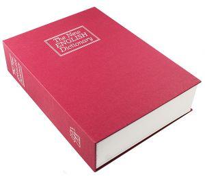 Книга-сейф Английский словарь (красная, 26,5 см)