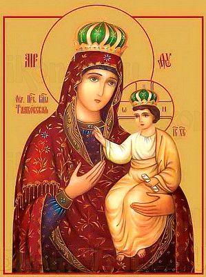Тамбовская икона Божией Матери (рукописная)
