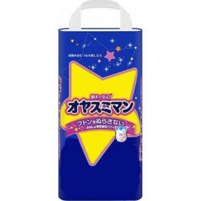 Трусики MOONY Super Big (13-25 кг), 22 шт/уп для девочек, Ночные - Оригинал
