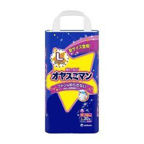 Трусики MOONY L (9-14 кг), 30 шт/уп для девочек, Ночные - Оригинал