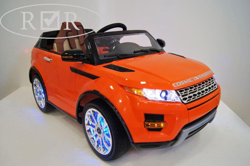 Детский электромобиль River Toys Range Rover A111AA VIP красный