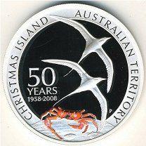 1 доллар 2008 Австралия, Остров Рождества