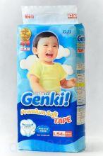 Японские подгузники GENKI  L 54 9-14 кг