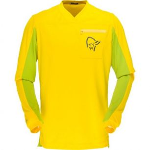 Norrona Fjora Equaliser Long Sleeve MTB Mellow Yellow M
