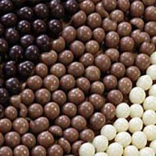 Шарики шоколадные КРАНЧ темные 3-8мм 50г