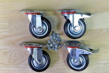 Комплект колес для металлической мебели