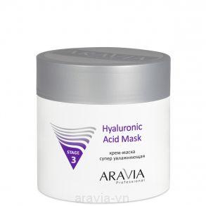 Крем-маска супер увлажняющая с гиалуроновой кислотой HYALURONIC ACID MASK 300 мл