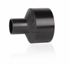 Переход литой ПНД 110-90мм (SDR17, PE100) ROFITT