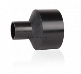 Переход литой ПНД 400-250мм (SDR17, PE100) ROFITT