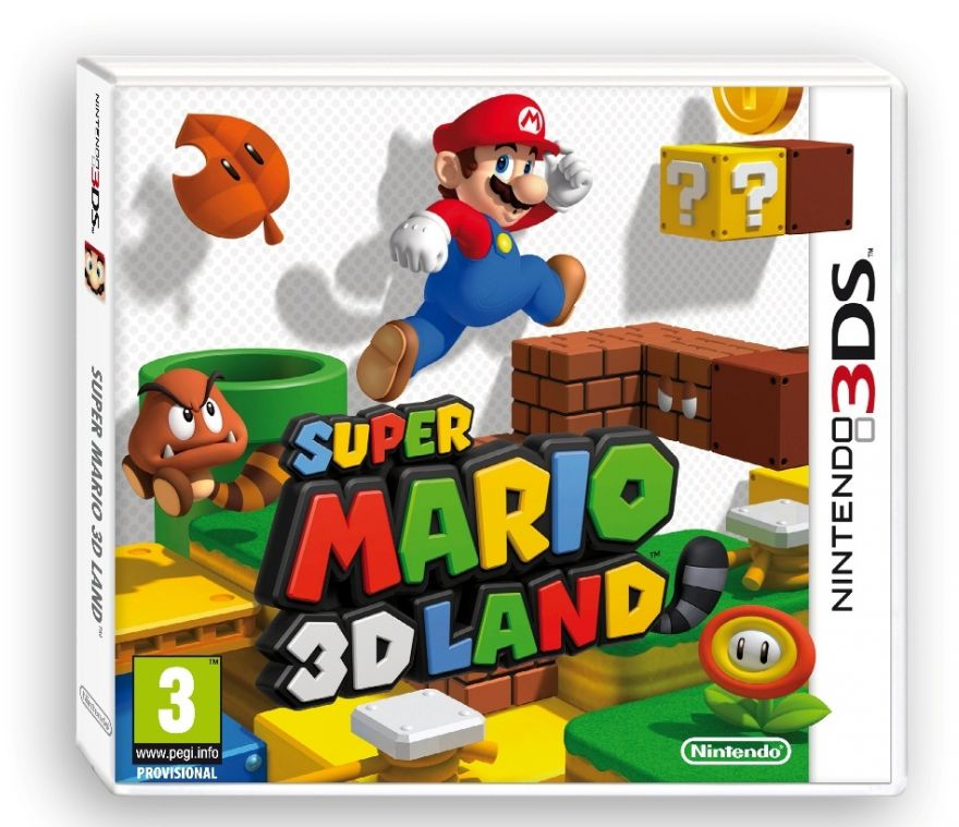 Игра Super Mario 3D Land (Nintendo 3DS)