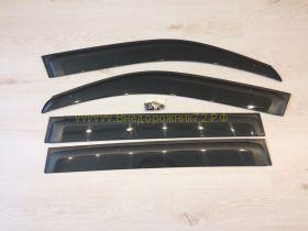 Дефлекторы окон широкие (ветровики) для Toyota Land Cruiser 200 / Lexus LX