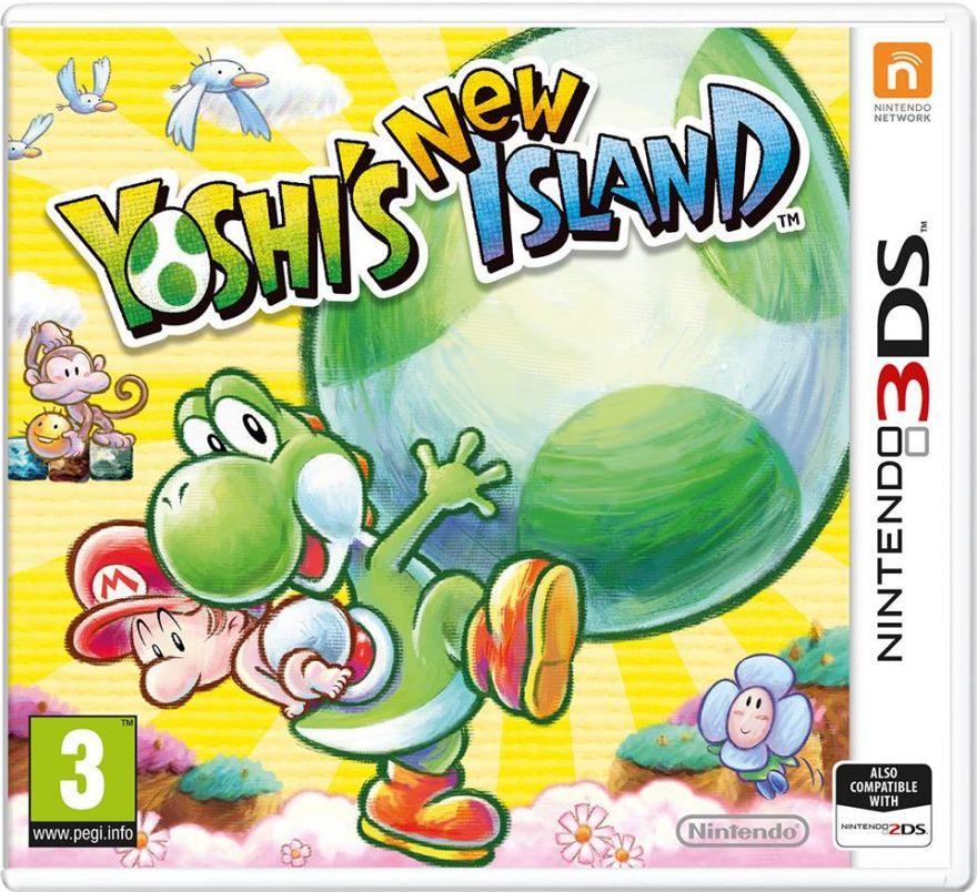 Игра Yoshi's New Island (Nintendo 3DS)