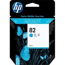 Картридж струйный оригинальный HP № 82 28 мл, Голубой (CH566A)