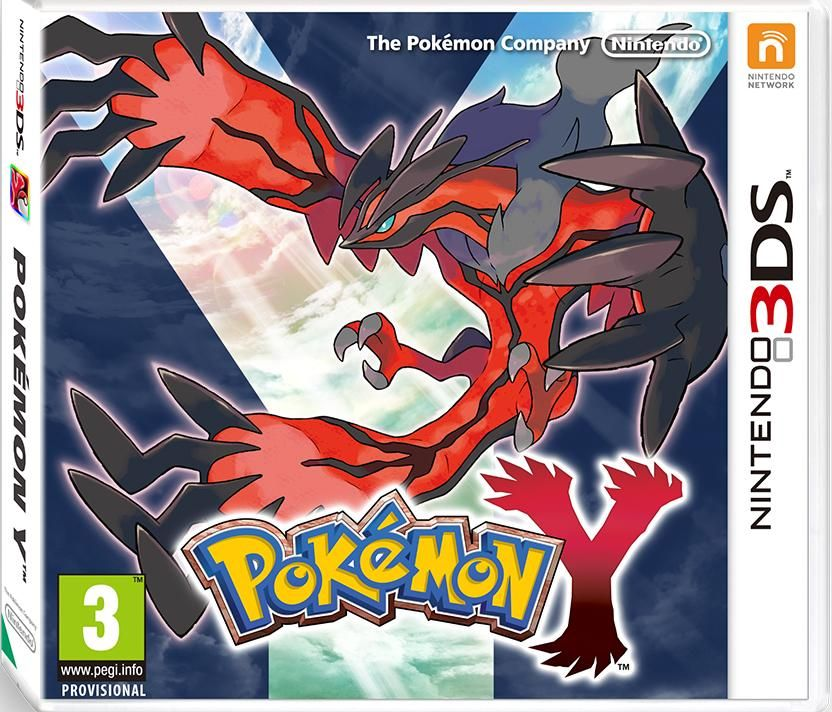 Игра Pokemon Y (Nintendo 3DS)