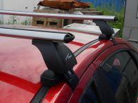 Багажник на крышу Lada Vesta, Lux, аэродинамические дуги (53 мм)
