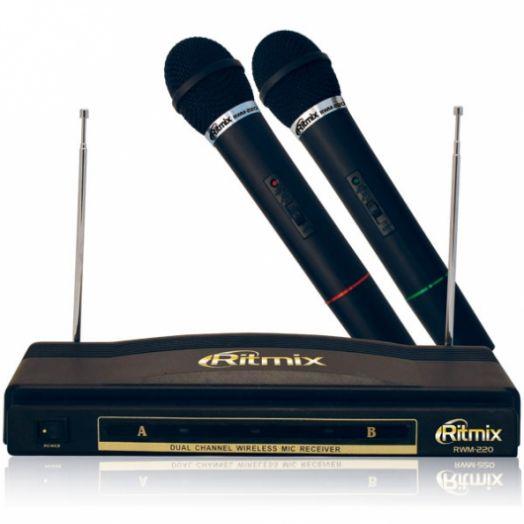Караоке набор Беспроводная микрофонная система RITMIX RWM-220