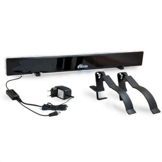 Антенна комнатная цифровая DVB-T2 с усилителем RITMIX RTA-310 DVB-T2