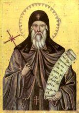 Прохор Пшинский (рукописная икона)