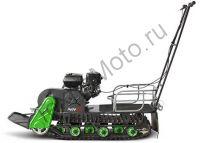 Мотобуксировщик Мухтар 7 в комплектации с лыжным модулем