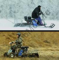 Лыжный модуль для мотобуксировщика Мухтар 7