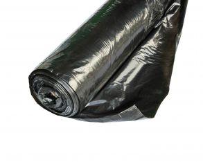 Пленка полиэтиленовая  черная 120мкр рукав (1500мм*2)*100м