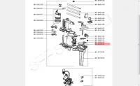 Уплотнитель заварочного блока кофемашины Krups (Крупс) серий XP, EA, MS-0698531