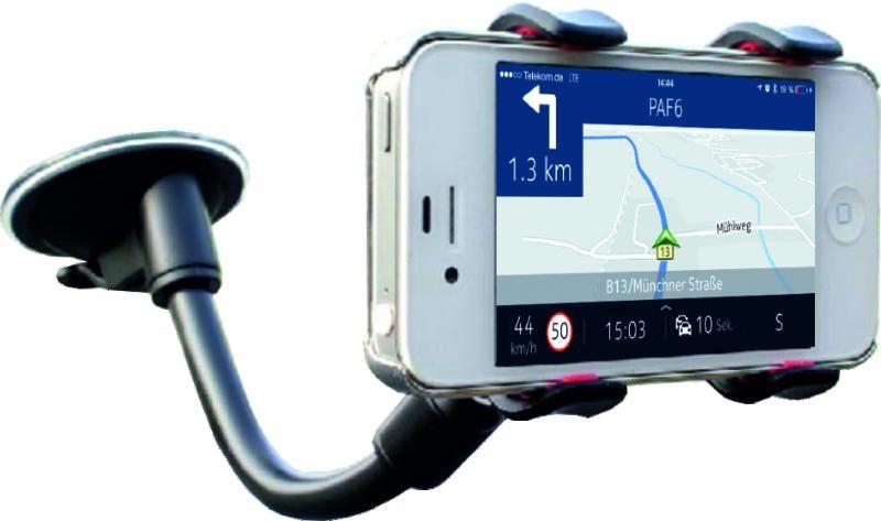 Держатель автомобильный для смартфонов OLMIO