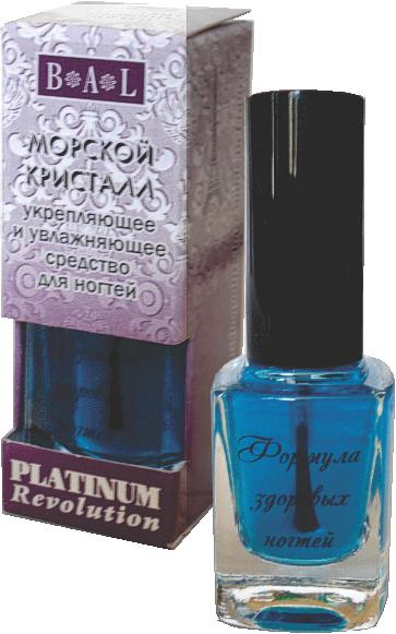 """05 Platinum Revolution """"Морской кристалл"""" увлажняющее и укрепляющее средство для ногтей"""