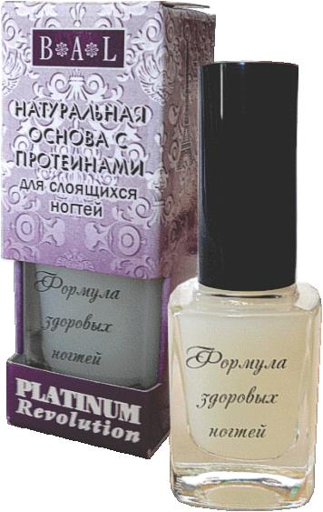 08 Platinum Revolution Натуральная основа с протеином для натуральных ногтей